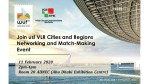 Join Us! VLR Cities and Regions Networking and Match-Making Event - #WUF10