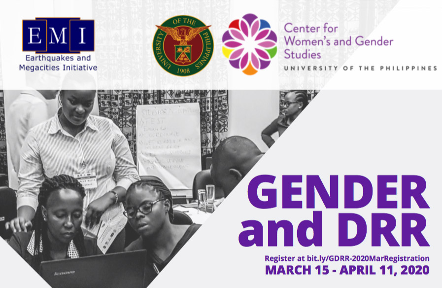 Gender and DRR Online Learning Course