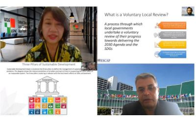 Commitment, Localised Action and Reporting towards Achievement of SDGs – VLR Introductory Training by UCLG ASPAC and UNESCAP