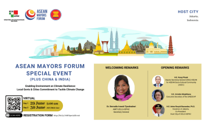 Collaborative Commitment on Sustainable Urbanisation to Tackle Climate Change in Southeast Asia
