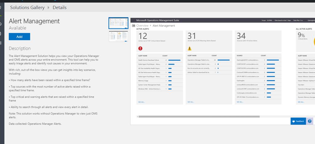 Operations Management Suite Setup walkthrough for Cloud