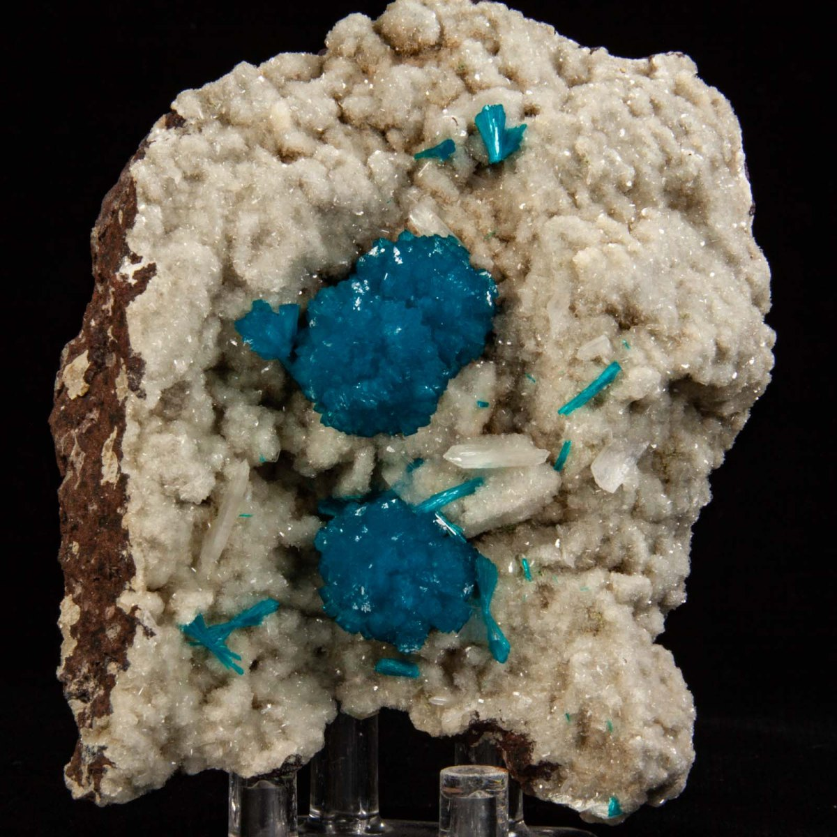 Cavansite with Stilbite