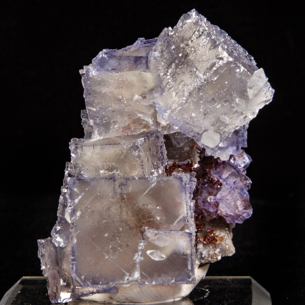 Fluorite and Calcite with Sphalerite