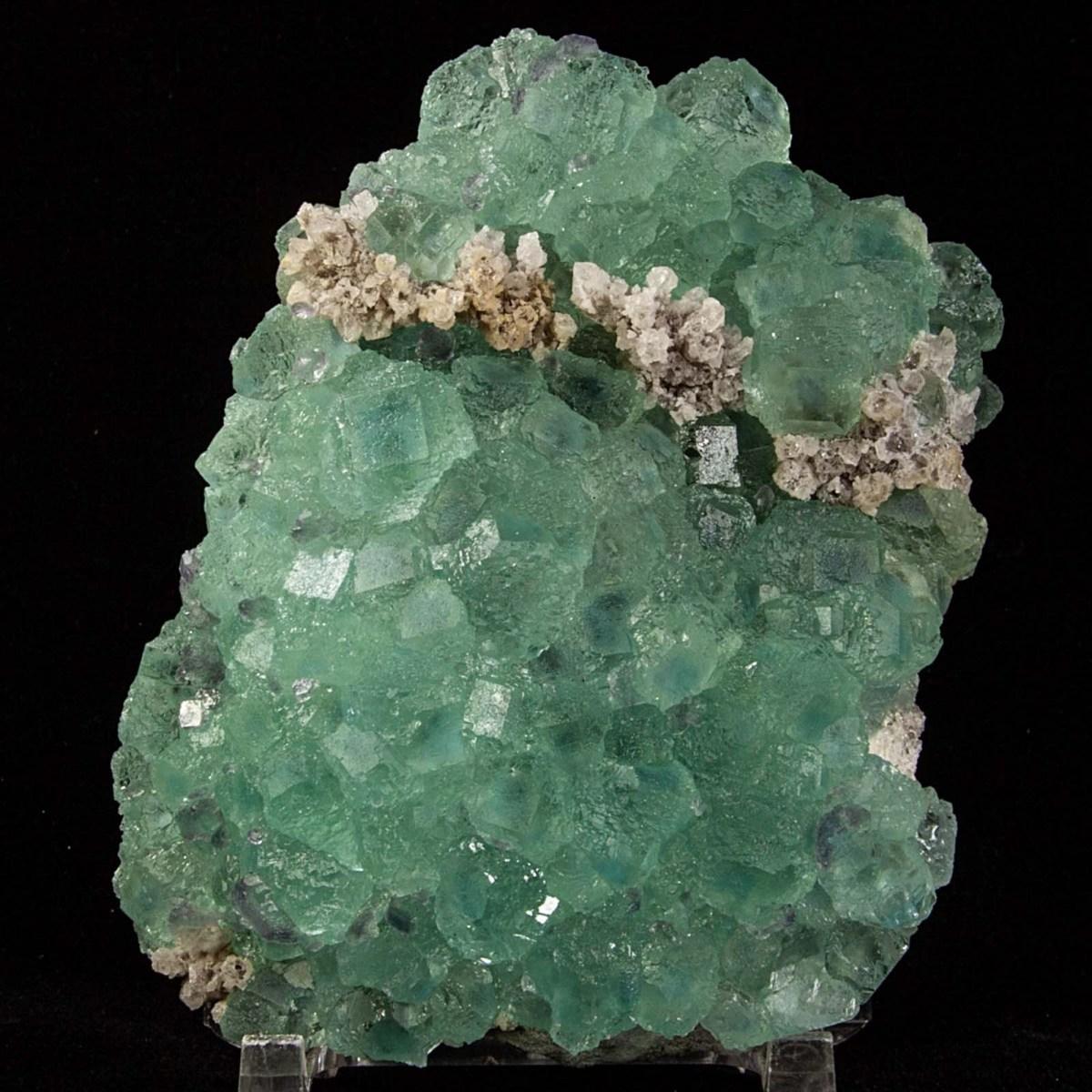 Fluorite with Quartz