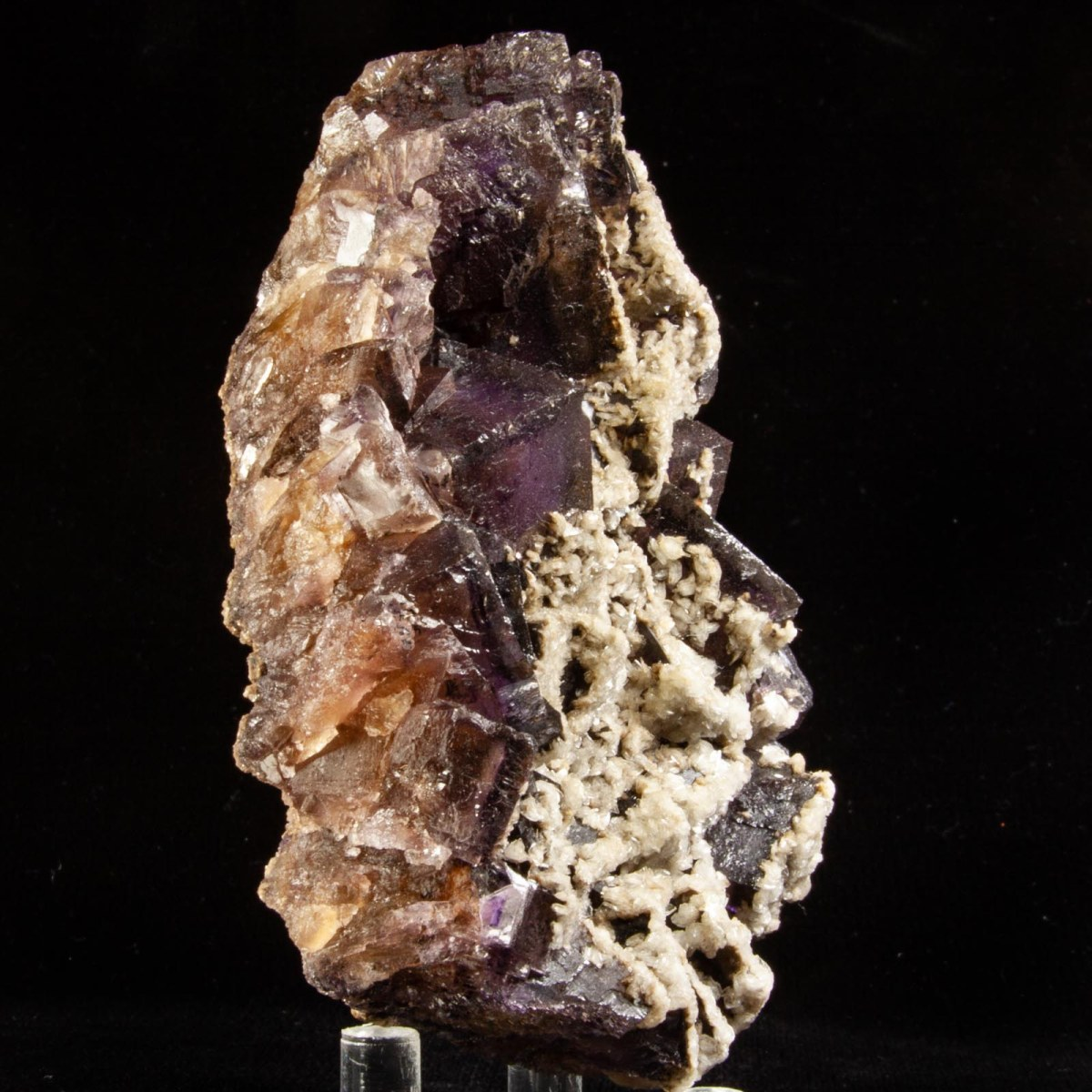 Fluorite with Barite