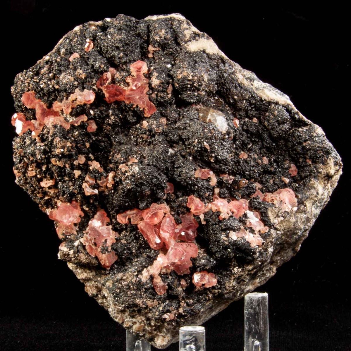 Rhodochrosite and Fluorite
