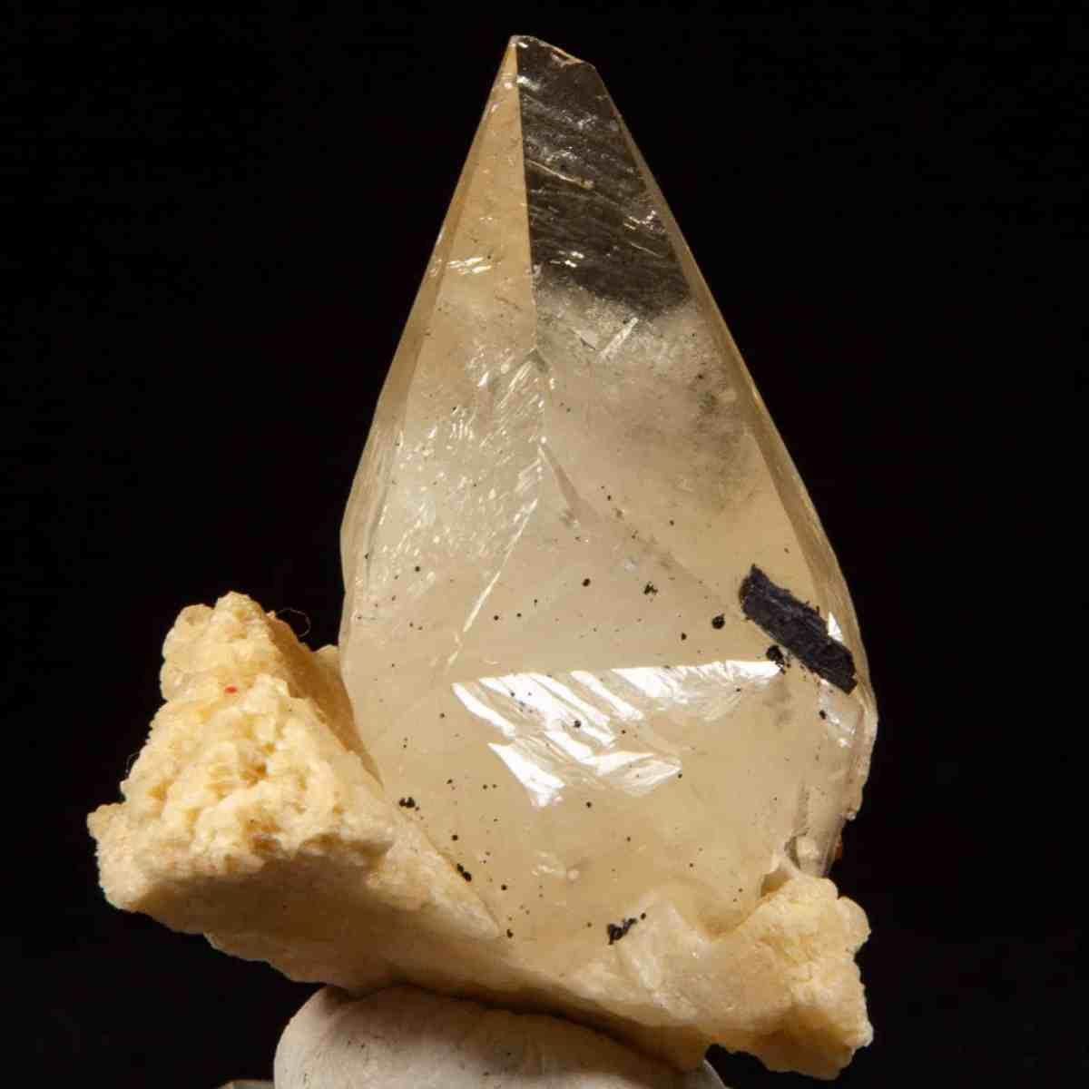 Calcite on Baryte