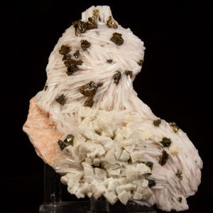 Barite and Chalcopyrite