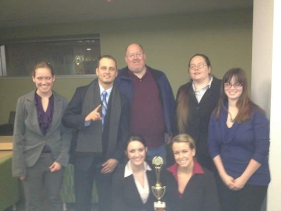 Spring 2011 Regional Team with trophy