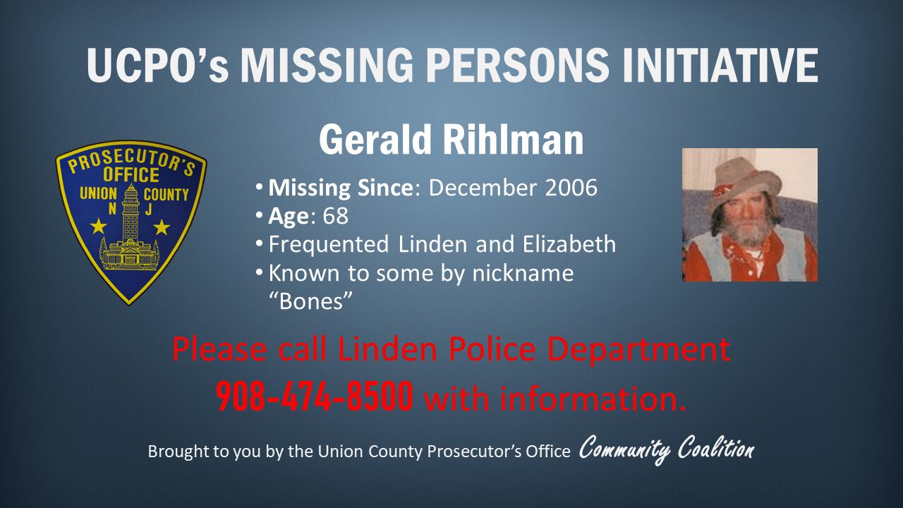 Missing persons_ Gerald Rihlman