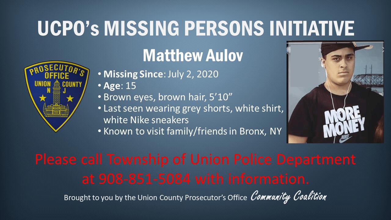 Missing persons_ Matthew Aulov