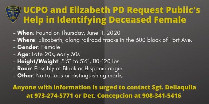missing person elizabeth june 2020
