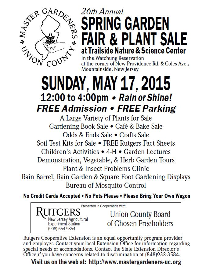 Shop for a Cause at the 26th Annual Master Gardeners