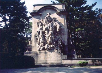 A monument in Princeton Photo by Mitch Dakelman