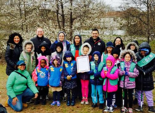 Adopt a Park with Girl Scouts