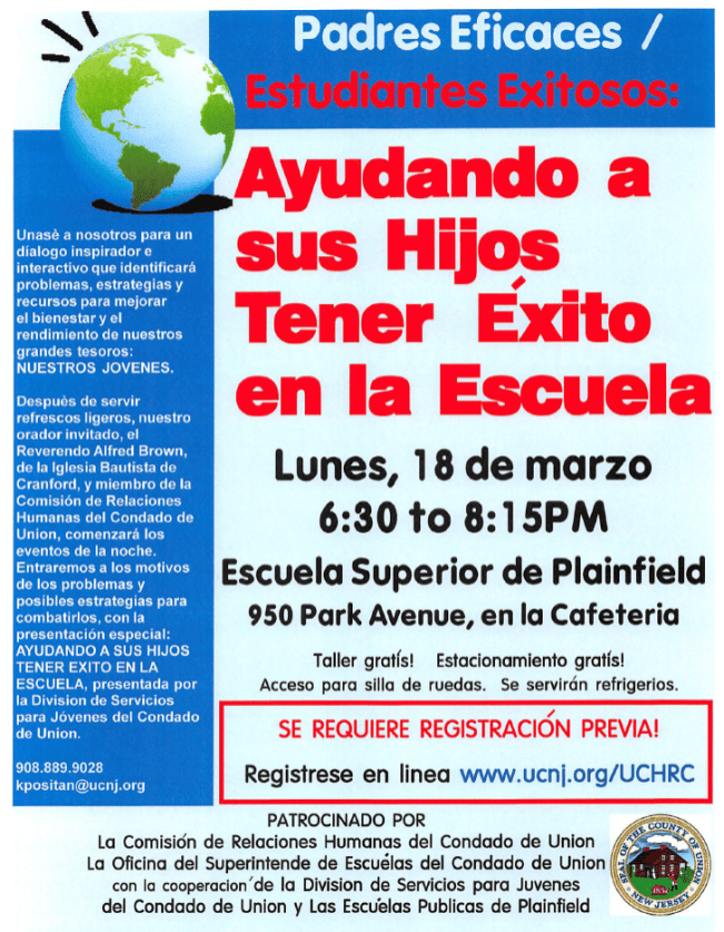 Helping your Child Succeed in School - spanish