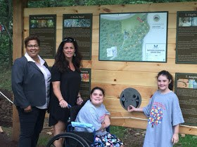 Rebecca-and-the-Parellos-at-Sensory-Friendly-Trail