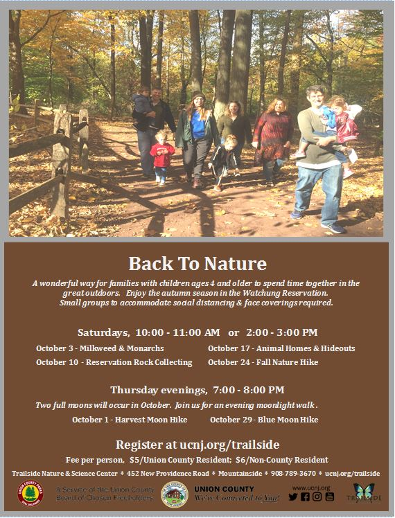 2020 back to nature fall flyer snip it