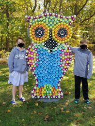 2020 recycled art wildlife walk owl.pdf