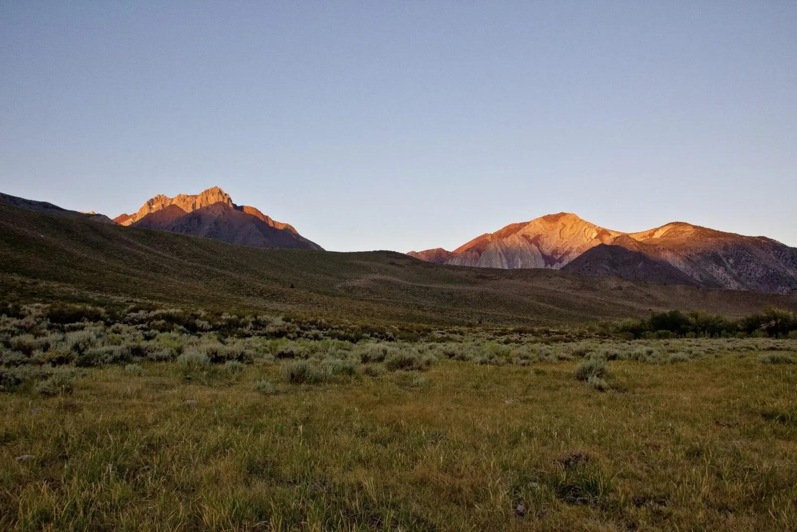 Sierra Nevada Aquatic Research Laboratory landscape