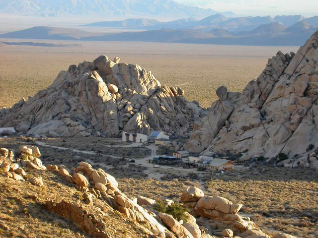 NRS reserves such as Sweeney Granite Mountains Desert Research Center provide critical facilities to researchers in areas such as the 1.5 million wild acres of the Mojave National Preserve. Image credit: James Andre