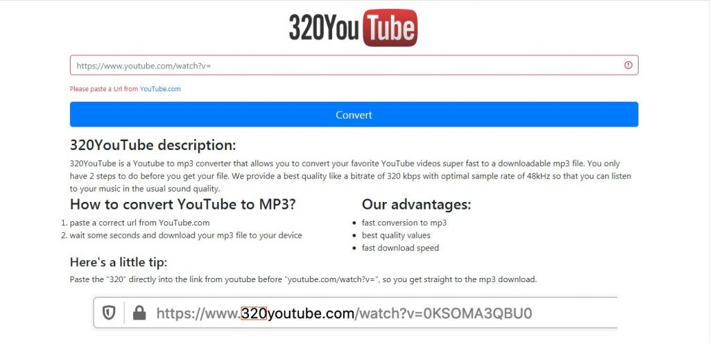 320YouTube