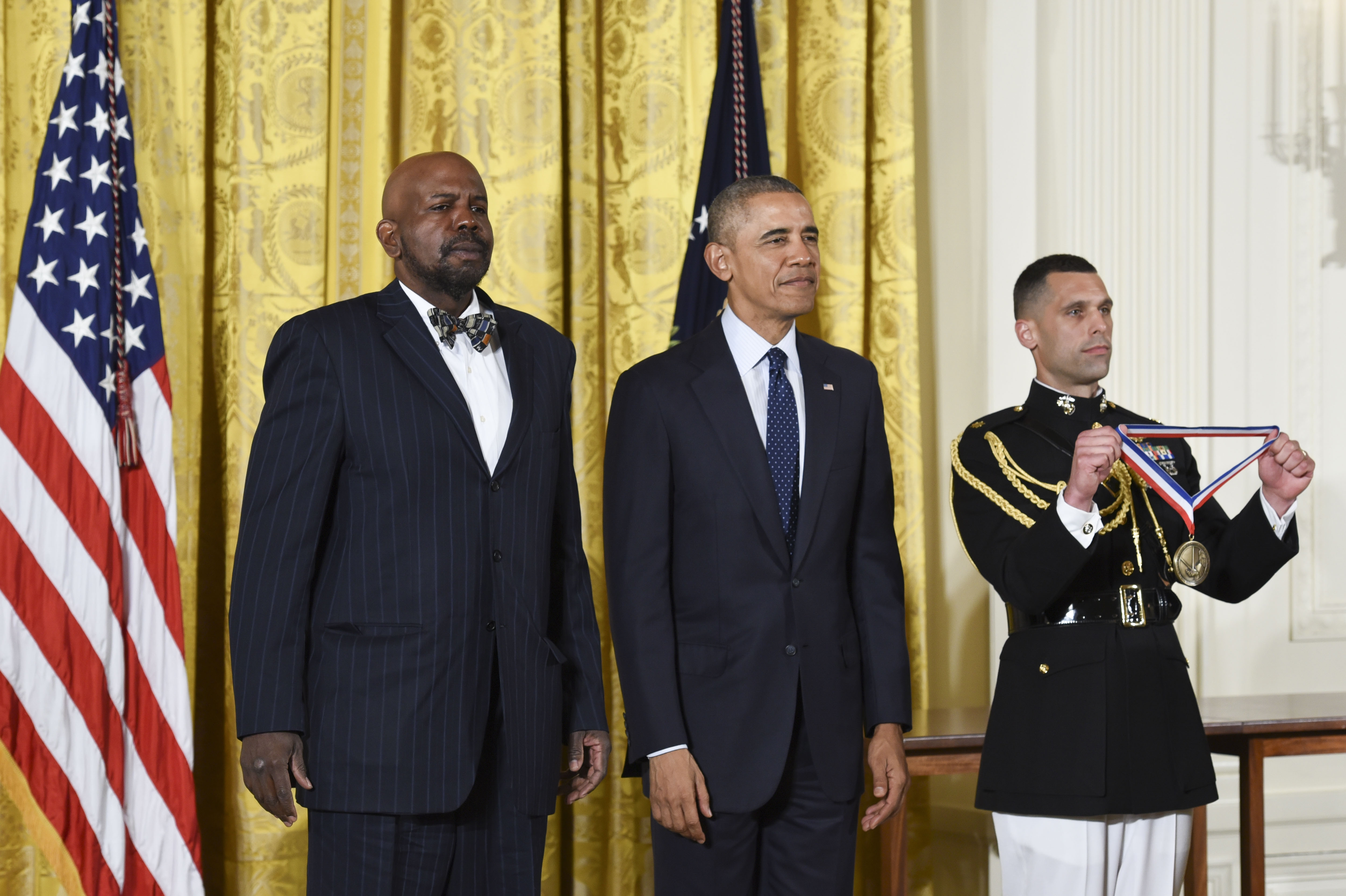White House Honors Dr Cato Laurencin With National Medal
