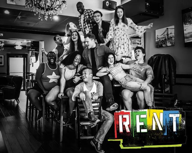 The Cast of Rent (2018)