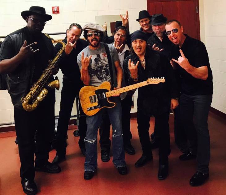 Executive Director Brian Remo with The Springsteen Experience (2017)
