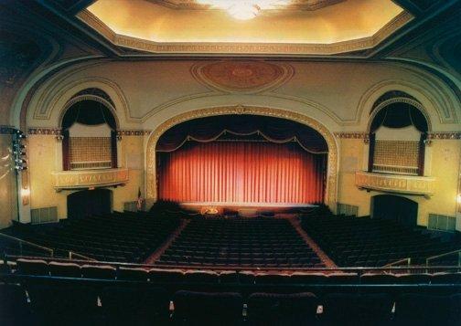Theatre Interior from Mezzanine<br>Interior circa 1995