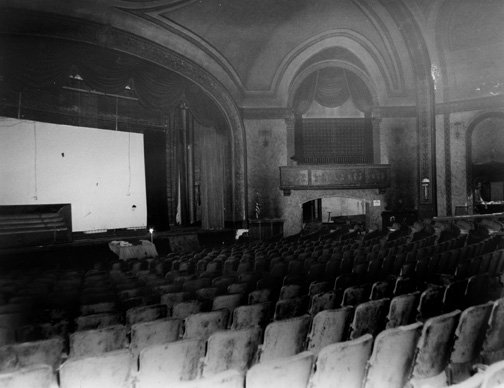 1985 - Before Initial Auditorium Renovation that took place in the 1990's.