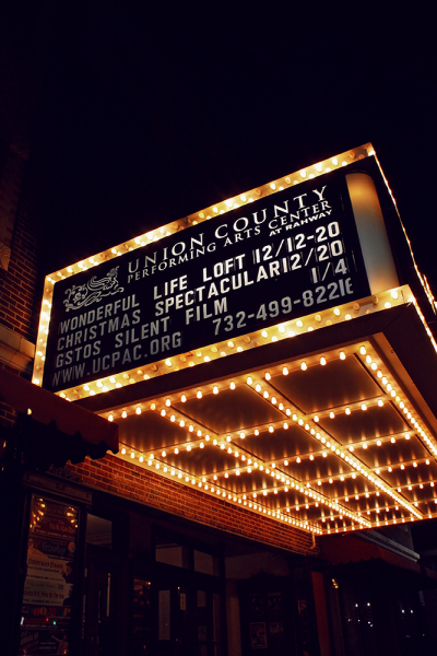 Main Stage Exterior (Marquee at night)