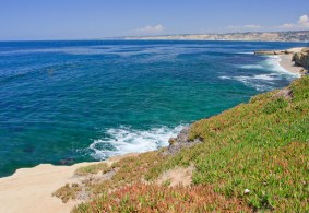 La Jolla coast near San Diego, Southern California