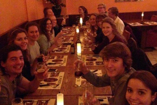 Enactus Team Dinner