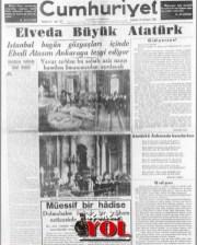 10 kasım 1938 gazete manşetleri (9)