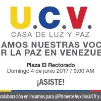 EN LA UCV: Soledad Bravo y diversos artistas unirán sus voces por la paz en Venezuela