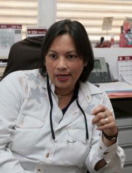 María Eugenia Guillen Jefa del Departamento de Certificación y Egreso