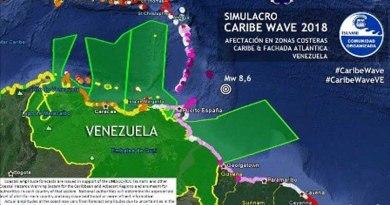 "Bomberos voluntarios participarán en operativo ""Caribe Wave 2018"""