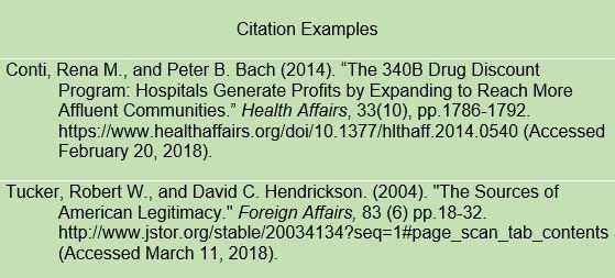 citation page format