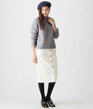 タイトスカートの種類3 (ミドルタイトスカート)