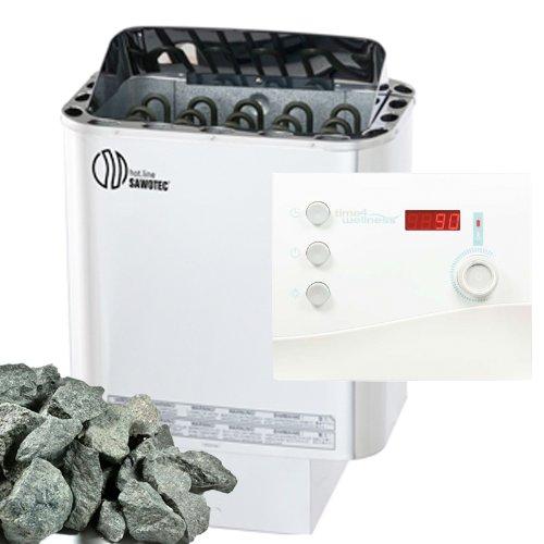 Sawo test Nordex Saunaofen 9 kW