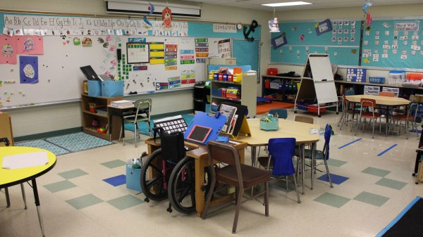 Middle School Special Education Classroom