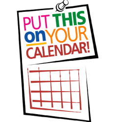 mark your calendar clip art University of the District of Columbia