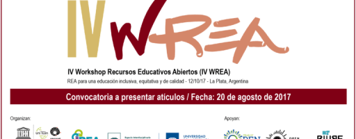 IV Workshop Recursos Educativos Abiertos (IV WREA)