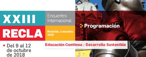 XXIII RECLA -Encuentro Internacional -OCT-2018