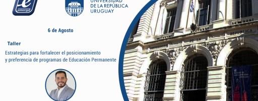 Taller «Estrategias para fortalecer el posicionamiento y preferencia de programas de Educación Permanente»