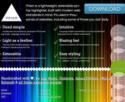 Python シンタックスハイライター  prism.js prism.css