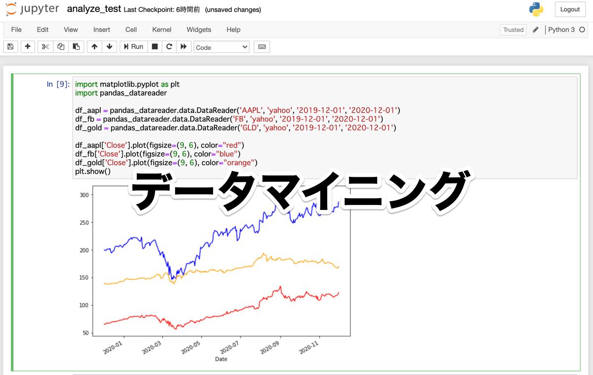 Python データマイニング