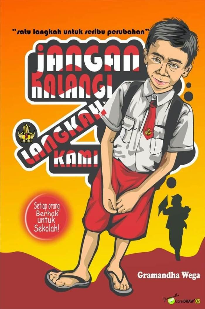 Menggambar Poster Pendidikan Contoh Poster Yang Mudah ...