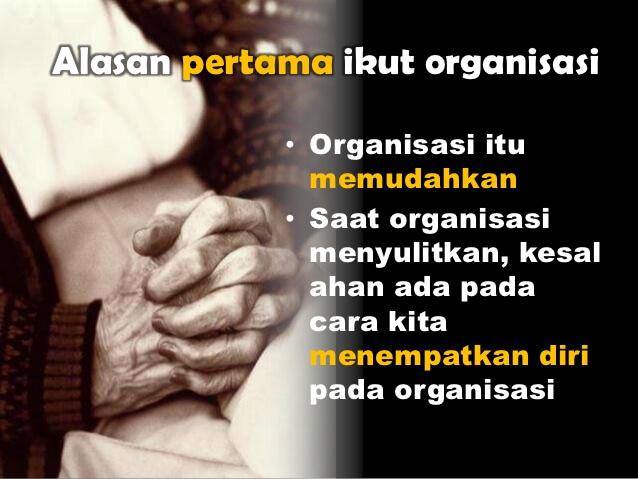 Kata Bijak Motivasi Organisasi